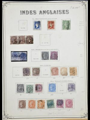 Stamp collection 34079 India 1855-1930.