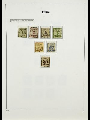 Stamp collection 34085 France 1849-1988.