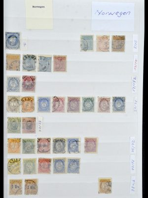 Stamp collection 34086 Norway 1856-1999.