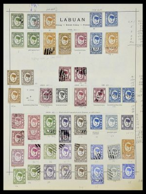 Stamp collection 34091 Labuan 1879-1904.