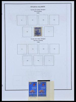Stamp collection 34094 Ryukyu 1949-1972.