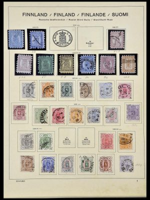 Stamp collection 34101 Finland 1860-1960.