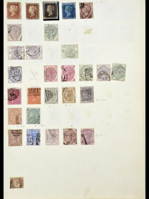 Stamp collection 34102 Great Britain 1840-1935.