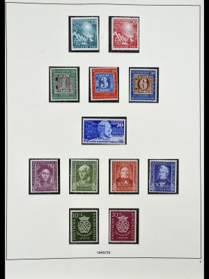 Stamp collection 34103 Bundespost 1949-1990.