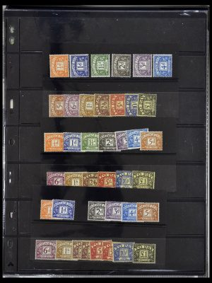 Stamp collection 34106 Great Britain postage dues 1914-1994.