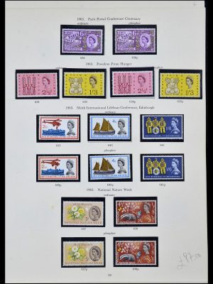 Stamp collection 34107 Great Britain 1960-1984.