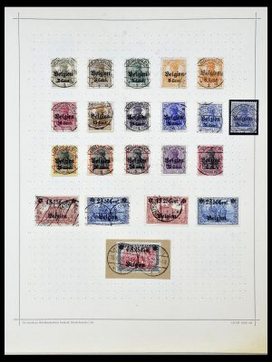 Stamp collection 34108 German territories 1914-1920.