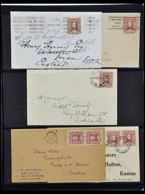 Stamp collection 34109 Australia 1930.