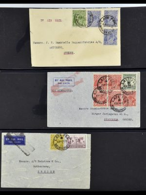 Featured image of Stamp Collection 34114 Australia covers 1914-1936.