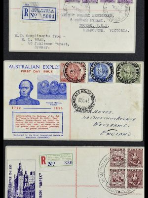 Featured image of Stamp Collection 34118 Australia FDC's 1944-1952.