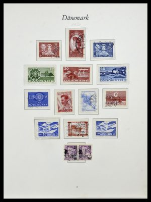 Featured image of Stamp Collection 34122 Denmark 1960-2001.