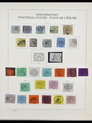 Stamp collection 34131 Vatican 1852(!)-1974.