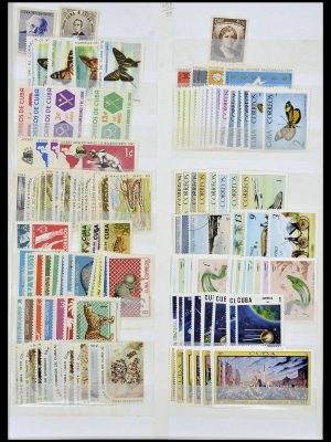 Stamp collection 34136 South America.