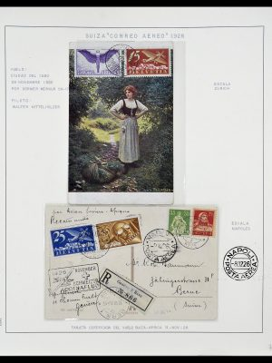 Featured image of Stamp Collection 34137 Switzerland airmail covers 1923-1963.