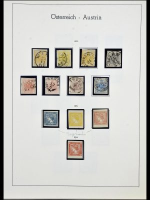 Stamp collection 34150 Austria and territories 1850-1975.