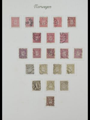 Stamp collection 34154 Norway postage dues 1883-1973.