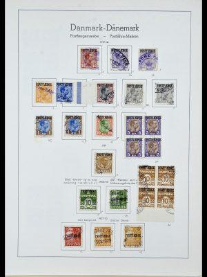Stamp collection 34156 Denmark postfaerge 1919-1975.