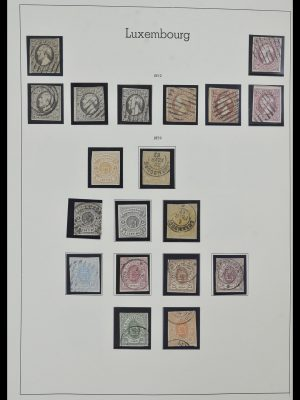 Stamp collection 34157 Luxembourg 1852-1974.