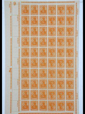 Featured image of Stamp Collection 34164 German Reich Markenheftchenbogen 1933-1942.
