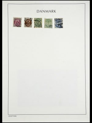 Stamp collection 34167 Denmark 1851-2004.