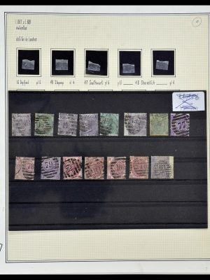 Stamp collection 34170 Great Britain 1867-1900.