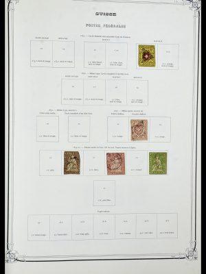 Stamp collection 34176 Switzerland 1850-1996.
