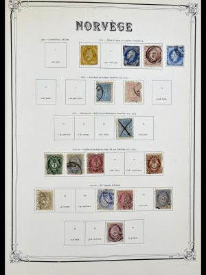 Stamp collection 34177 Norway 1856-1999.