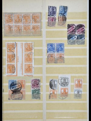 Stamp collection 34178 German Reich combinations 1920-1942.