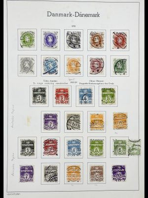 Stamp collection 34183 Denmark 1930-2014.