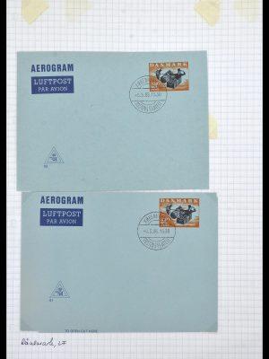 Stamp collection 34189 Denmark postal stationeries 1871-2002.