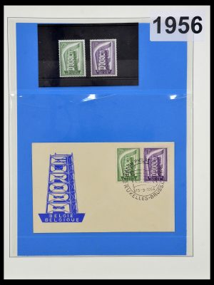 Featured image of Stamp Collection 34191 Europa CEPT 1956-2008.