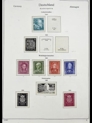 Stamp collection 34192 Bundespost 1949-1975.