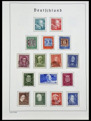 Stamp collection 34193 Bundespost 1949-1977.
