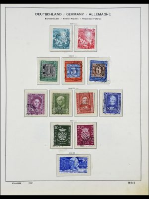 Stamp collection 34194 Bundespost 1949-1982.