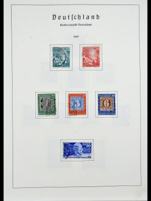 Stamp collection 34195 Bundespost 1949-1981.