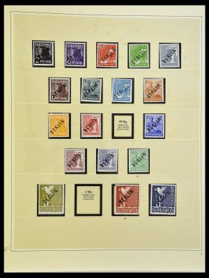 Stamp collection 34199 Berlin 1948-1974.