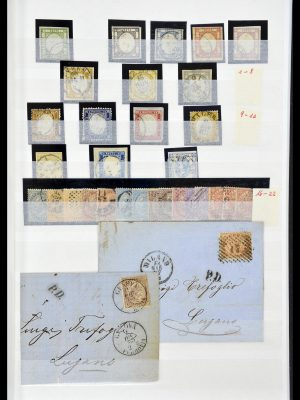 Featured image of Stamp Collection 34206 Italy and territories 1861-2000.