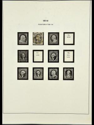 Stamp collection 34224 USA 1861-1977.