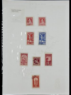 Featured image of Stamp Collection 34229 New Zealand 1929-1992.