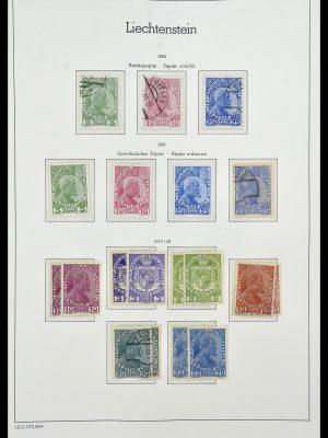 Featured image of Stamp Collection 34231 Liechtenstein 1912-2020!