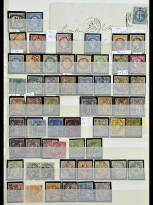 Stamp collection 34236 France 1853-2004.