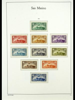 Featured image of Stamp Collection 34243 San Marino 1877-2008.