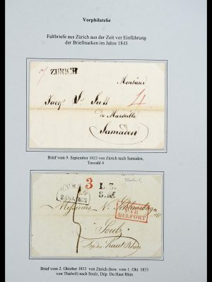 Featured image of Stamp Collection 34244 Switzerland 1822(!)-1989.