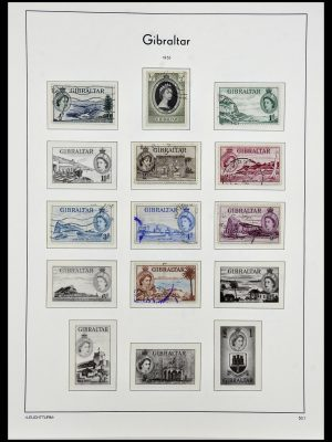 Featured image of Stamp Collection 34261 Gibraltar and Malta 1953-1985.