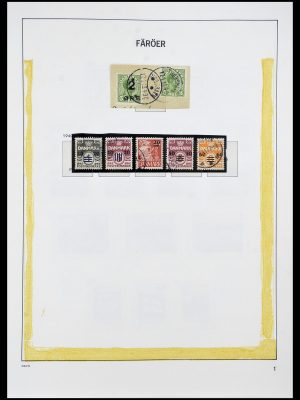 Featured image of Stamp Collection 34269 Faroe Islands 1919(!)-2001.