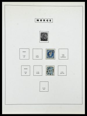 Featured image of Stamp Collection 34274 Norway 1856-2012.