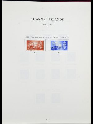 Featured image of Stamp Collection 34276 Channel Islands 1969-2006.