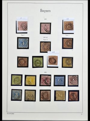 Featured image of Stamp Collection 34287 Bavaria 1849-1920.