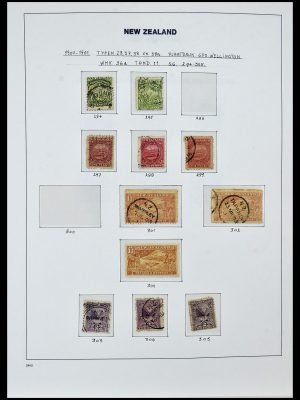 Featured image of Stamp Collection 34288 New Zealand 1900-2002.