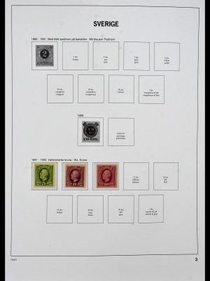 Featured image of Stamp Collection 34292 Sweden 1891-2015!